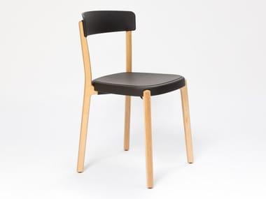 Stapelbarer Restaurantstuhl aus Polypropylen NOA | Stuhl