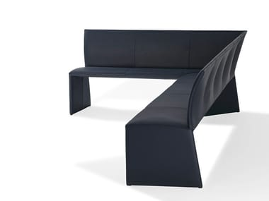 Corner bench with back NOBILE | Corner bench