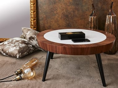 Round MDF coffee table NOBLE | Coffee table