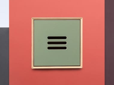 Wall cabinet with door NOBLE | Wall cabinet