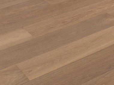 Brushed oak parquet NOCCIOLIEVE