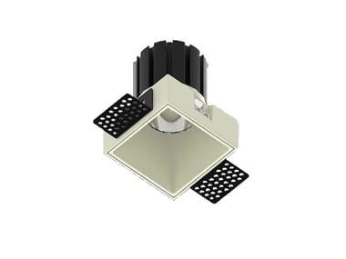 LED square recessed metal spotlight NOCE Q 5