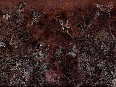 Papel de parede ecológico de tecido não tecido NOCTURNO