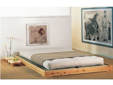 Tatami solid wood bed NOKIDO