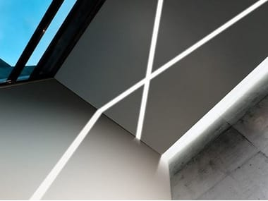 Extruded aluminium linear lighting profile NOLITA ECO