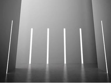 Wall-mounted linear lighting profile for LED modules NOLITA TRIM