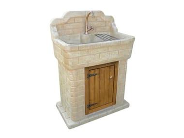 Acquaio in pietra ricostruita NONNA MATILDE