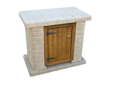 Mobile lavabo per giardino NONNA PRISCILLA