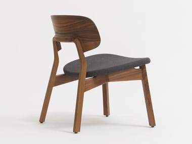 Solid wood easy chair NONOTO LOUNGE
