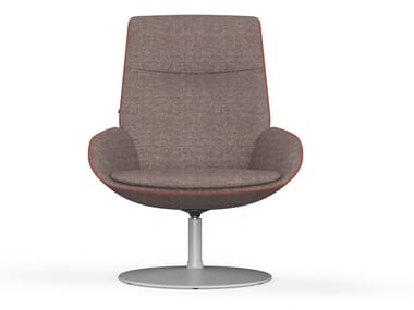 Fabric armchair with armrests NOOM | Armchair