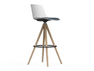 High stool with integrated cushion NOOM | Stool with integrated cushion