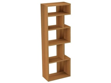 Wooden bookcase NOON | Bookcase