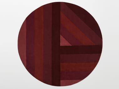 Handmade round wool rug NOON   Round rug