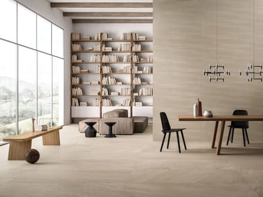 Porcelain stoneware wall/floor tiles with stone effect NORDIC STONE Danimarca