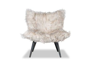 Fur armchair NORDKAPP