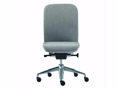 Fabric task chair with 5-Spoke base with casters NORMA FABRIC - 380_F