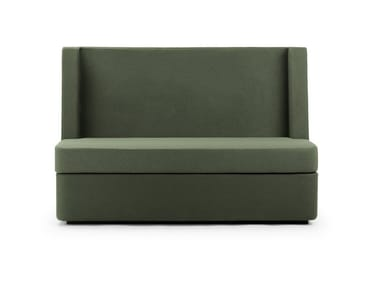 Contemporary style 2 seater sectional high-back fabric sofa NOSMOKING | High-back sofa