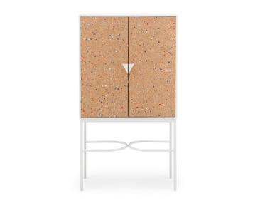 Cork highboard with doors NOTEBOOK | Highboard