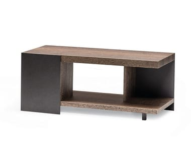 Tavolino rettangolare in legno NOTH   Tavolino rettangolare