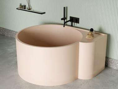 Round Livingtec® bathtub NOUVEAU | Bathtub