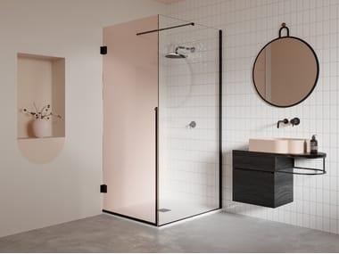 Box doccia angolare con porta a battente NOUVEAU | Box doccia angolare