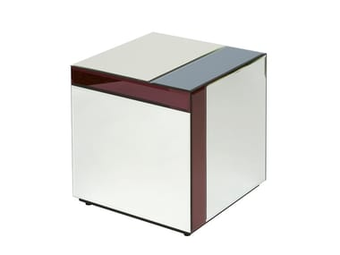 Square glass coffee table NOUVEAU TABLE SMALL