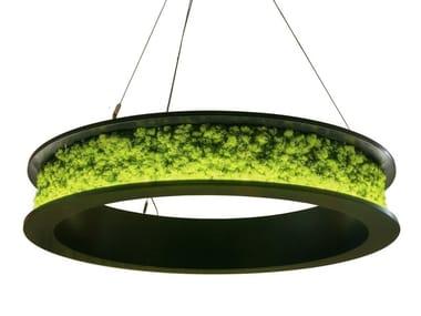 Ring light with moss NOVA