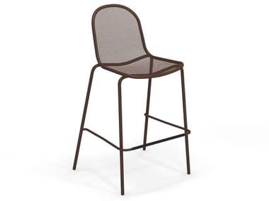 High stackable steel stool NOVA | Stool