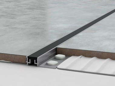 Aluminium Flooring joint NOVOJUNTA® METALLIC FLEX