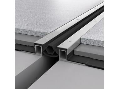 Metal Flooring joint NOVOJUNTA PRO® WP80   Flooring joint