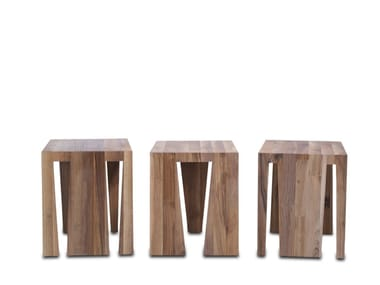 Solid wood stool / coffee table NT