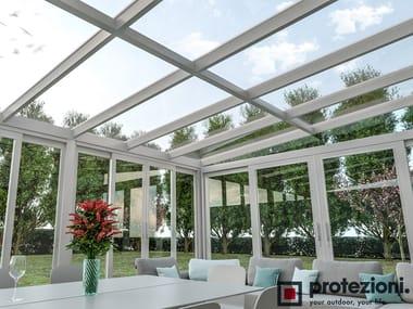 Aluminium conservatory canopy NUBES Fix T-T