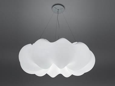 Polyethylene pendant lamp NUBOLI