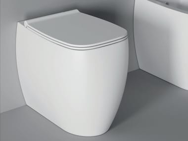 Floor mounted ceramic toilet NUR | Toilet