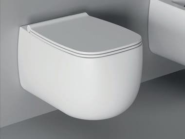 Wall-hung ceramic toilet NUR | Wall-hung toilet