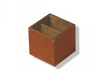 Tanned leather pen holder NOCE | Tanned leather pen holder