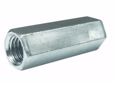 Dado distanziale in acciaio zincato Dado distanziale