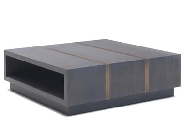 Low Square Cherry Wood Coffee Table O 1294   Coffee Table