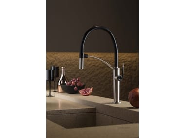 Countertop kitchen mixer tap with swivel spout O'RAMA KITCHEN | Countertop kitchen mixer tap