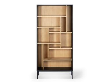 Open oak bookcase OAK BLACKBIRD   Bookcase