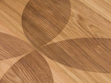 Oak wall/floor tiles OAK CLEAR CARVING LIPSO I - NATURAL