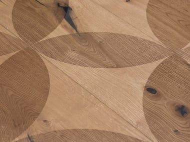 Oak wall/floor tiles OAK COUNTRY CARVING LIPSO I - GREY