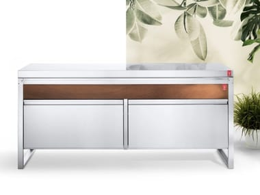 Cucina da esterno a gas in acciaio inox OASI C205.C5