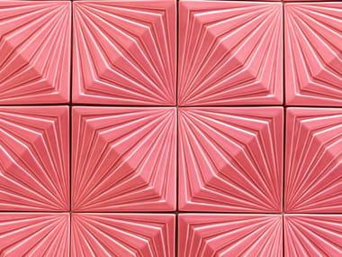 Indoor ceramic 3D Wall Tile OBLIQUE