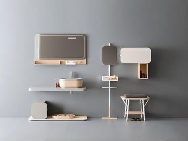 Bathroom furniture set OBLON - JAKU