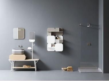 Vanity unit with mirror OBLON - SEI