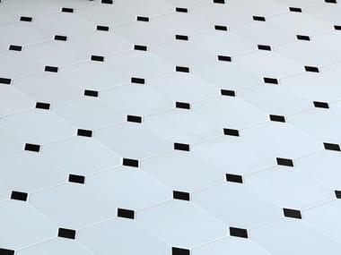 Red-paste flooring OCTAGON