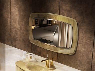 Wall-mounted rectangular bathroom mirror ODEON | Mirror
