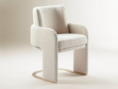 Cantilever chair with armrests ODISSEIA   Chair