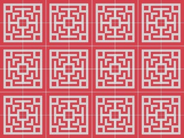 Handmade cement tiles ODYSSEAS 212